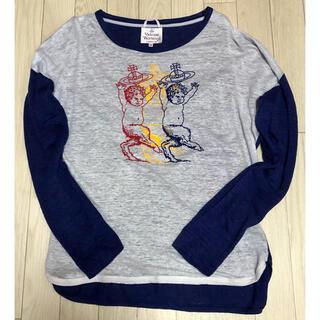 ヴィヴィアンウエストウッド(Vivienne Westwood)のヴィヴィアン サティア ロンT(Tシャツ(長袖/七分))