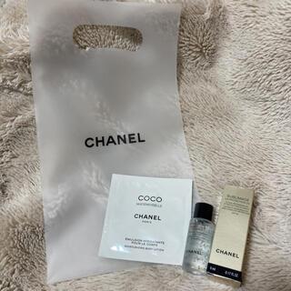 シャネル(CHANEL)のシャネル サンプルセット(化粧水/ローション)
