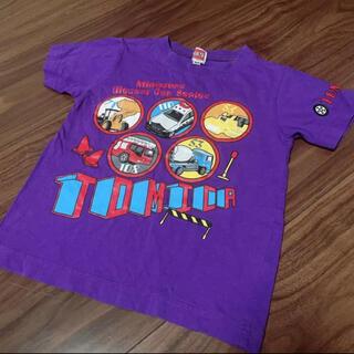 タカラトミー(Takara Tomy)の美品 Tシャツ トミカ シャツ 働く車(Tシャツ/カットソー)