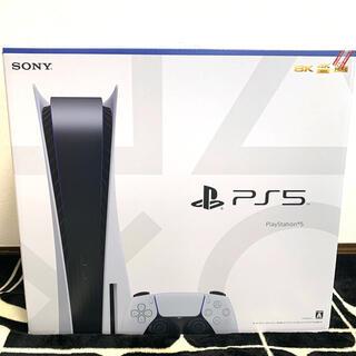 プレイステーション(PlayStation)の新品 ps5 通常版本体(家庭用ゲーム機本体)