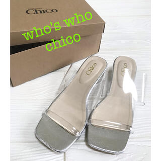 who's who Chico - who's who chico クリアサンダル L