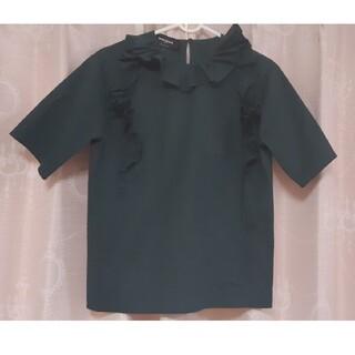 美品 ロシャス 半袖 ブラウス シャツ フリル Italy製 ROCHAS