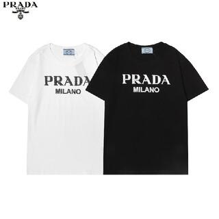 PRADA - 処分品★M2枚PRADA プラダ Tシャツメンズレディース兼用