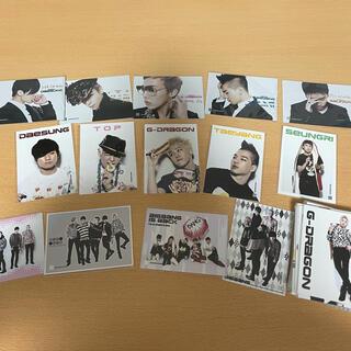 BIGBANG - BIGBANG トレカ、生写真、クリアファイルセット