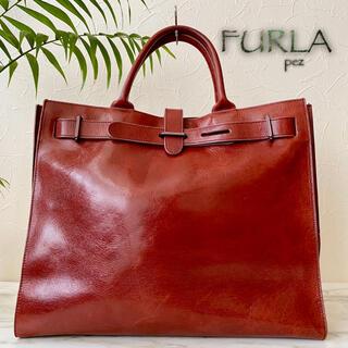 Furla - 超美品 FURLA フルラ 約6万 レザートートバッグ