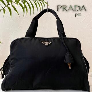 プラダ(PRADA)の極美品 正規品 PRADA プラダ 約15万 テスート レザートートバッグ 鞄(ボストンバッグ)