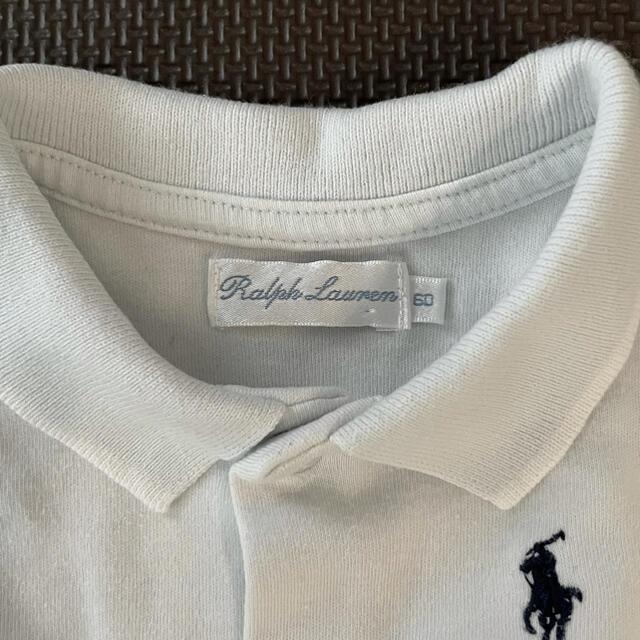 Ralph Lauren(ラルフローレン)のRalphLauren☆ショートオール60cm & セレク☆肌着50cm キッズ/ベビー/マタニティのベビー服(~85cm)(ロンパース)の商品写真