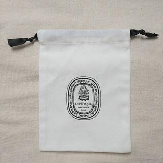 ディプティック(diptyque)のディプティック ショッパー 巾着 (小) 白 1(ショップ袋)