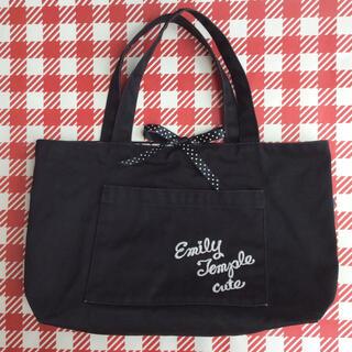 エミリーテンプルキュート(Emily Temple cute)のエミリーテンプルキュート ノベルティ ミニ トートバッグ 非売品(ハンドバッグ)