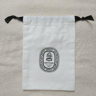ディプティック(diptyque)のディプティック ショッパー 巾着 (小) 白 2(ショップ袋)