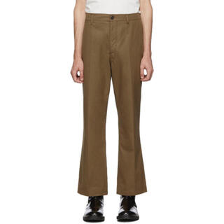 LEMAIRE - lemaire chino trousers 46 brown