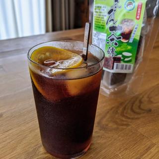 台湾 お菓子お飲み物 レモン冬瓜茶磚 4pc(茶)