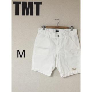 TMT - ホワイトデニム ハーパン ハーフパンツ 白 ホワイト TMT