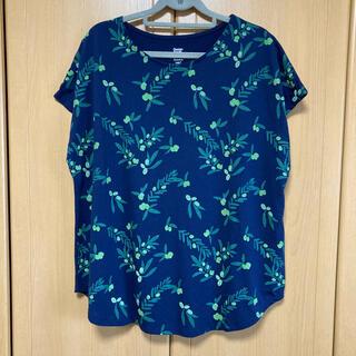 グラニフ(Graniph)のグラニフ オリーブ柄トップス(Tシャツ(半袖/袖なし))