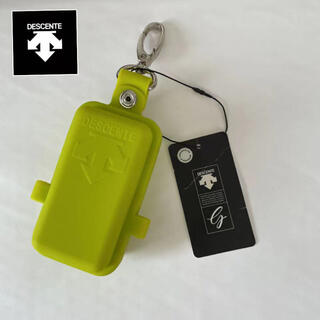 DESCENTE - 新品デサント/ゴルフ/ボールケース ボールポーチオシャレシリコン製