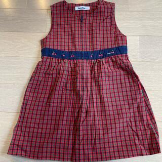 familiar - ♡ファミリア♡familiar ワンピース スカート ジャンパースカート 110