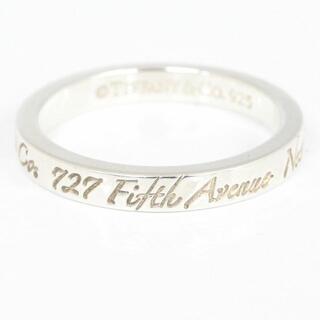 Tiffany & Co. -  ティファニー リング ノーツ ナロー SV 12.5号