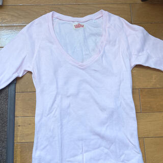 ハリウッドランチマーケット(HOLLYWOOD RANCH MARKET)のハリウッドランチマーケット ピンク(Tシャツ(長袖/七分))