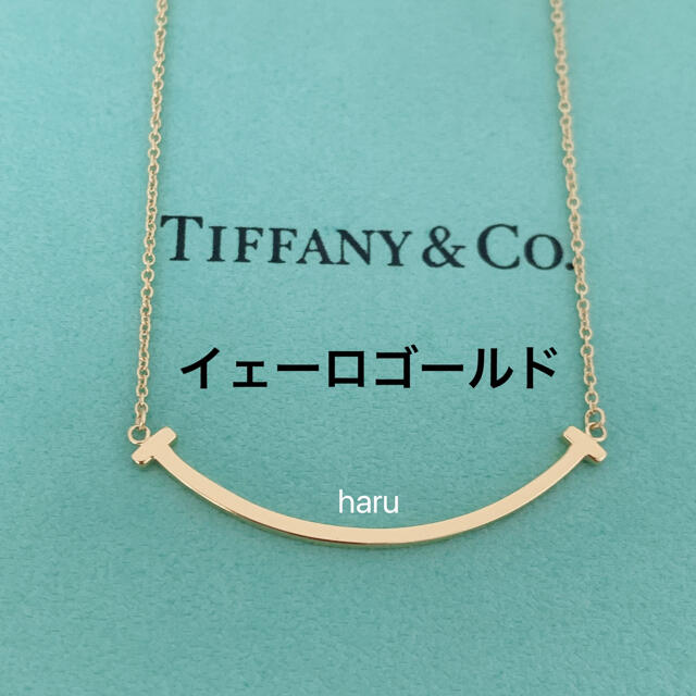 Tiffany & Co.(ティファニー)のTIFFANY&Co. ティファニーTスマイルネックレスK18スモール レディースのアクセサリー(ネックレス)の商品写真