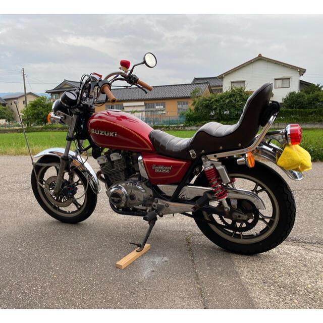 スズキ(スズキ)の【値下げ交渉有り】SUZUKI gsx250t トラザリ 4型 自動車/バイクのバイク(車体)の商品写真