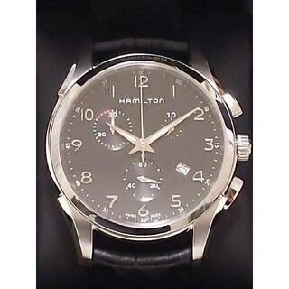 Hamilton - HAMILTON ハミルトン ジャズマスター クロノグラフ QZ腕時計 スイス製