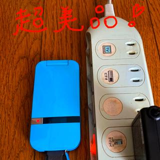 ソフトバンク(Softbank)の【超美品】202SH   ガラケー ソフトバンク  希少!(携帯電話本体)