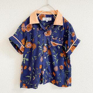 こども ビームス -  イーストエンドハイランダーズ フラワー柄シャツ 90㎝