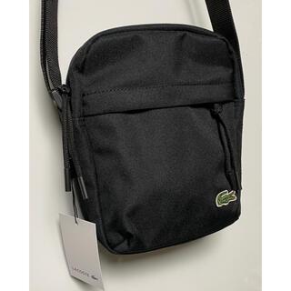 LACOSTE - ◎新品 LACOSTE NEOROC SHOULDER BAG BLACK