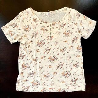 サマンサモスモス(SM2)のSM2 サマンサモスモス 花柄 Tシャツ トップス レディース 柔らか(Tシャツ(半袖/袖なし))