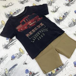 男の子 Tシャツ&ハーフパンツ セット 90㎝