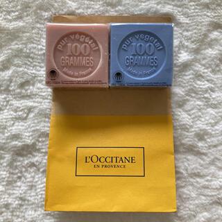 ロクシタン(L'OCCITANE)の新品未使用♪ロクシタン石鹸セット(ボディソープ/石鹸)