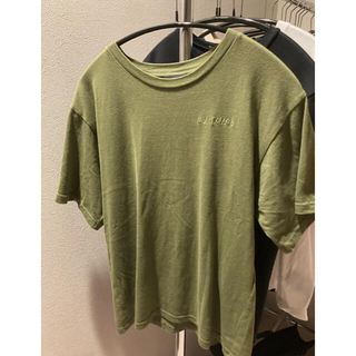 Balenciaga - BALENCIAGA バレンシアガ ロゴ Tシャツ カーキ S