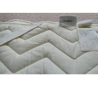 フランスベッド(フランスベッド)のフランスベッド クィーンサイズマットレスカバー  汗とりパッド付き(枕)