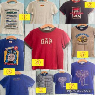ギャップキッズ(GAP Kids)の110㎝ 男の子Tシャツまとめ売り(7着)(Tシャツ/カットソー)