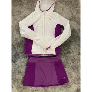 プーマ(PUMA)のPUMA ランニング ウェアセット パーカー スカート(ウェア)