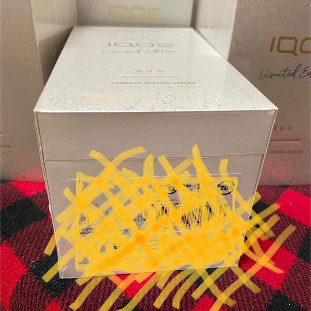 IQOS(アイコス)の【新品未開封、送料無料】iQOS3 DUO ムーンシルバー アイコス 新色 メンズのファッション小物(タバコグッズ)の商品写真