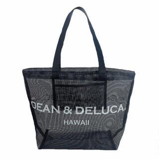 DEAN & DELUCA - DEAN&DELUCAディーンアンドデルーカ メッシュトートバッグ ブラック