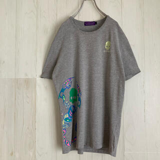 ハイドロゲン(HYDROGEN)のハイドロゲン HYDROGEN Tシャツ 刺繍 スカル 古着 プリント(Tシャツ/カットソー(半袖/袖なし))