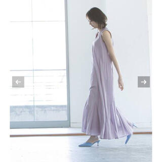 Noble - 【新品タグ付】《追加2》【MARIHA】夏の月影のドレス パープルC サイズ36