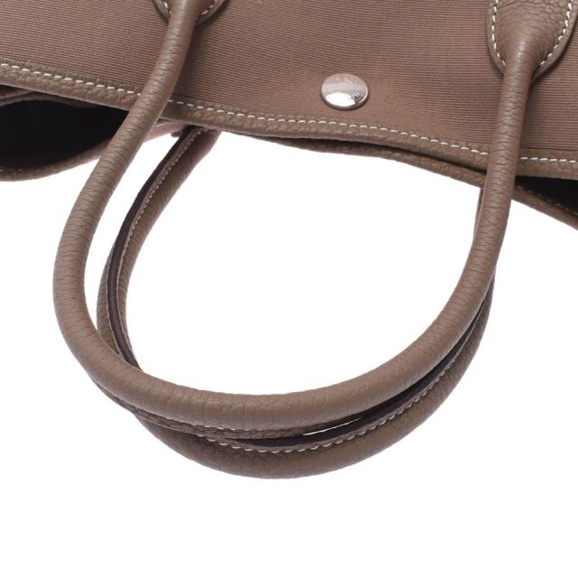 Hermes(エルメス)のエルメス ガーデンパーティ 30 ハンドバッグ エトゥープ レディースのバッグ(ハンドバッグ)の商品写真