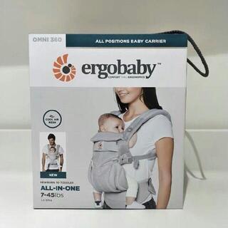 Ergobaby - 今日限定値下げ エルゴ オムニ360 クールエアパールグレー
