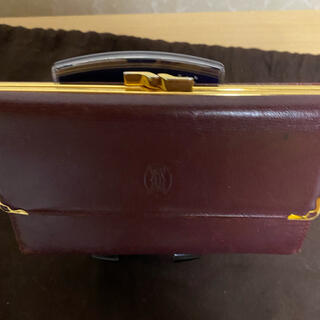 カルティエ(Cartier)のCartier三つ折りがま口財布(財布)