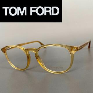 TOM FORD - トムフォード イエロー クリスタル メガネ FT メンズ レディース ボストン