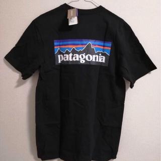 patagonia - パタゴニア Patagonia 定番tシャツ 黒ブラック Lサイズ