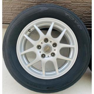 トヨタ(トヨタ)のシュナイダー schneider タイヤホイールセット4本 195/65R15(タイヤ・ホイールセット)