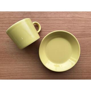 イッタラ(iittala)のイッタラ アラビア ティーマ イエロー カップ&ソーサー140ml(食器)