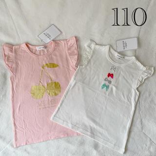 BeBe - トップス Tシャツ Slap Slip 110 女の子 未使用 新品