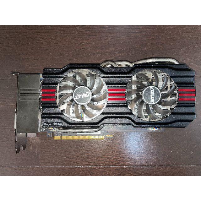 ASUS(エイスース)のASUS GTX670 グラフィックボード スマホ/家電/カメラのPC/タブレット(PCパーツ)の商品写真