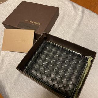 ボッテガヴェネタ(Bottega Veneta)のボッテガヴェネタ マネークリップ 札入れ カードケース 黒 ブラック(財布)