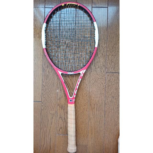 wilson(ウィルソン)のWilson ncode six-one tour  スポーツ/アウトドアのテニス(ラケット)の商品写真
